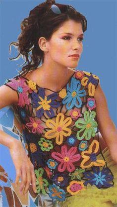 Flores Pra Você! Lace Cardigan, Handmade Crafts, Eminem, Summer Outfits, Crochet Patterns, Knitting, Womens Fashion, Clothes, Dresses