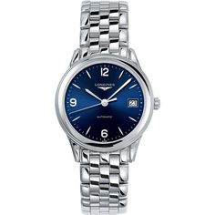 LONGINES L47744966 Flagship Heritage stainless steel watch