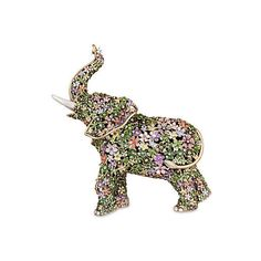 Sadie Boxwood Elephant Figurine Large Figurines & Animal Figures ($1,475) ❤ liked on Polyvore featuring home, home decor, decorative accessories, jay strongwater figurines, elephant figurines, elephant figure, jay strongwater and elephant home decor