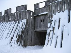 "photorator: "" Viking fortress in Trelleborg Sweden """