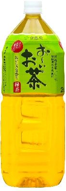 Oi Ocha japanese green tea  my latest drink of choice. it's oddly refreshing. maybe a few bottles of these.