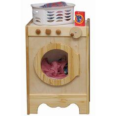 Wooden Toy Washing Machine