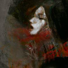 """Suhair Sibai Painting """"I, Syria"""""""
