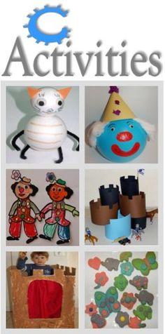 Letter C Activities | Activities for kindergarten, Activities and ...