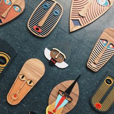 [New] 17 Home Decor Pictures African Masks, African Art, Ceramica Artistica Ideas, Cardboard Mask, Abstract Face Art, Clay Art Projects, African Crafts, Woodworking Inspiration, Modern Dollhouse