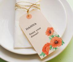 HEY LOOK: FREEBIES: PRINTABLE INVITATION & PLACE CARD TAGS