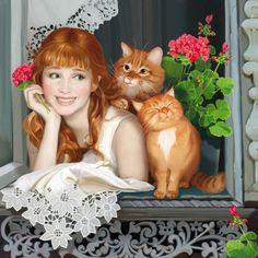 405ce - Illustrations by Doronina Tatiana  <3 !