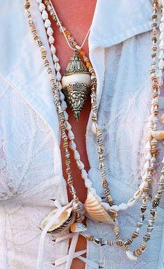 jewels from the sea #bohemian ☮k☮ #boho