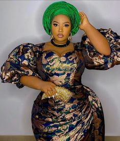 Beautiful Asoebi Styles 2020: Most Stylish Dresses for ladies Long African Dresses, African Print Dresses, African Print Fashion, Africa Fashion, African Fashion Dresses, African Attire, African Wear, African Women, Aso Ebi Lace Styles