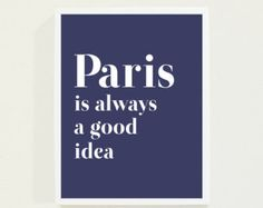 Emerald Green Typography Print Paris Typography by fieldtrip