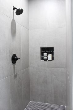 30 Marble Bathroom Design Ideas Styling Up Your Private Daily Rituals Concrete Shower, Concrete Look Tile, Concrete Bathroom, Concrete Design, Bathroom Wall Tiles, Concrete Walls, Marble Bathrooms, Modern Bathroom Design, Bathroom Interior Design
