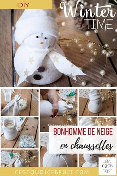 DIY Réaliser un bonhomme de neige en chaussettes avec les enfants pour les fêtes #DIY #tuto #bonhommedeneige #snowman #noel #kidsactivity Christmas Deco, Christmas Time, Peaceful Parenting, Attachment Parenting, Diy Weihnachten, Winter Time, Activities For Kids, Create Your Own, Diys