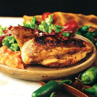Grilled Chicken with Spicy Brazilian Tomato and Coconut Sauce - South American Recipes - Delish.com