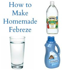 How to Make Homemade Febreze - Miss Information
