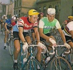 Jacques Anquetil & Felice Gimondi