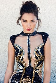 Gal Gadot for Bello Magazine Issue #46 'The Art Issue'. Photographed by Angelo Kritikos, Styled by Alexandra Mandelkorn