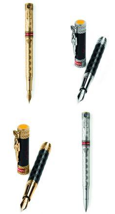 bd69b78f3af Ayrton Senna ganha homenagem pelo aniversário com caneta de 30 mil euros  Canetas Tinteiro