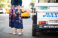 Street Style From New York Fashion Week Spring 2014 - New York Fashion Week Spring 2014 Street Style, Day 4