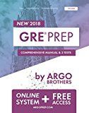 Free Kindle Book -   GRE Prep by Argo Brothers: Practice Tests + Online System + Videos, GRE Test Prep 2018