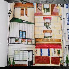 Instagram media nasyaviola - my.. #secretparis #coloring #coloringbook #art #paris