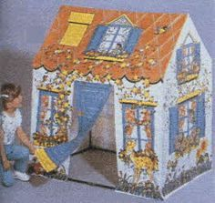 Wendy House. I always always wanted one of these. But sadly, it was never to be.