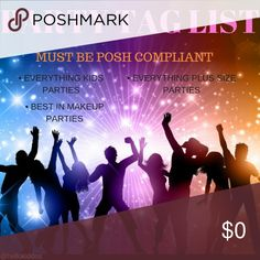 PARTY TAG 🎉 JOIN THE LIST📋 Sign up by tagging your username and I'll be glad to add you to my list. This will allow party hosts to take a brief look at your closet for possible Host Picks. Your closet must be posh compliant in order to be added to my list and for party hosts to host pick your listing/s. Like & share Michael Kors Bags