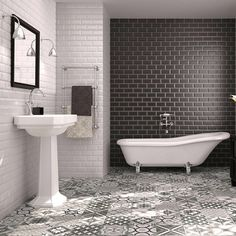 find this pin and more on design ideas - Edwardian Bathroom Design