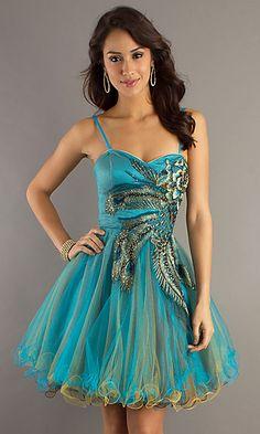 Cute Peacock Dress!