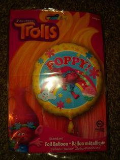 Anogram Trolls Poppy Foil Balloon 1 Count