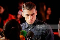 Stephen James attends Men's Health 2016 Awards on January 28, 2016 in Madrid, Spain.