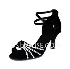 Dance Shoes - $24.99 - Satin Heels Sandals Dance Shoes (053006986) http://jjshouse.com/Satin-Heels-Sandals-Dance-Shoes-053006986-g6986