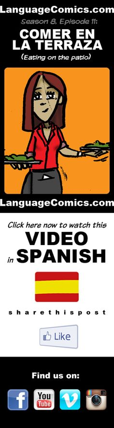 #Spanish practice and pronunciation. Enjoy and share! https://youtu.be/SDnflLE3jNY