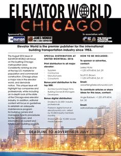 Interested in reaching the elevator and escalator market in Chicago #Chicago #advertising