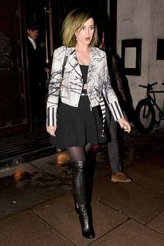 Katy Perry leaves the Wolseley restaurant in Mayfair, London, on May 12, 2014.   - Cosmopolitan.com