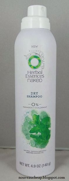 Use at ends of curled hair for extra fullness. Here is a general review of the product.  NEW Herbal Essences Naked Dry Shampoo