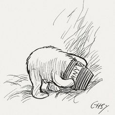 Was there ever a greater friend than Winnie-ther-Pooh?  You are never to old to fall in love with this classic.