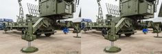 Radar equipment and Missile hardware at MAKS 2013 airshow