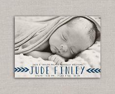 Part de naissance bébé garçon - Jude