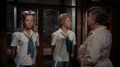 The Parent Trap - original. I grew up watching this all the time. I even own it in original packaging vhs style...lol