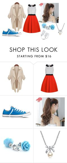 """""""idk"""" by teahurei on Polyvore featuring Converse, Pin Show and MBLife.com"""