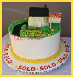 House sold cake from CakeDevils.com