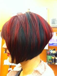 Love this - wish I could have my hair like that!  Hair and color done by Robin Cartier