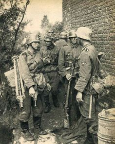 This photo album was compiled by SS-Kriegsberichter Friedrich Zschäckel . They were taken during the Invasion of France in 1940, and feature troops from the SS-VT Division. We hope you enjoy these...