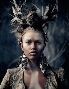 Jutta, Ancient Estonian Goddess and Queen of the Birds, daughter of Taara (the supreme god of the pantheon of Estonian Mythology).