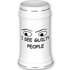 Where was this when i worked? I see guilty people mugs, great police humor!