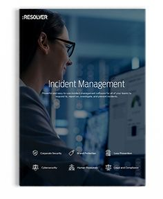 Corporate Security Brochure   Resolver Corporate Security, Risk Management, Learning, Studying, Teaching, Onderwijs