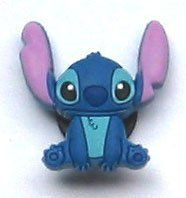 STITCH in Lilo & Stitch Movie Disney Jibbitz Crocs Hole Bracelet Shoe Charm ~ Ears Up in Air ~ by Disney. $6.99. STITCH Jibbitz ~ Croc Shoe Charm Condition: NEW; NIP (Smoke-free home) Dimensions: 1 X 1 inches Quantity: One (1) Jibbitz Charm MSRP: $6.99 ~ Fun Jibbitz to add to anyone's collection. ~ YOU WILL RECEIVE THE EXACT ITEM SHOWN IN THE PHOTO