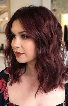 Hot Mulled Wine Hair Colors for 2018