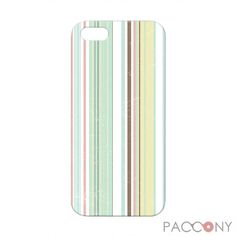 Light Color Stripe Pattern Protective Hard Cases for iPhone 5