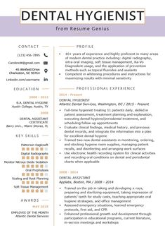 Jul 2019 - Dental hygiene resume is needed if you want to apply a job in the dental care area. It is whether if you want to be the dentist, dental assistant, and more. Yes, the resume is the sheet commonly required to… Continue Reading → Dental Assistant Study, Dental Hygiene Student, Dental Hygienist, Oral Hygiene, Dental Care, Dental Health, Oral Health, Dental Surgery, Dental Implants